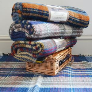Eco Friendly Wool Throw And Blanket