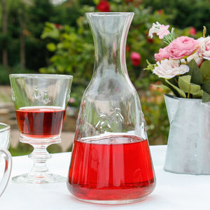 Honey Bee Glass Carafe