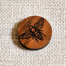 Manchester Bee Lapel Pin