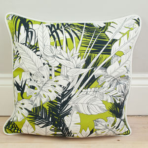 Tropical Palm Leaf Cushion - view all sale items