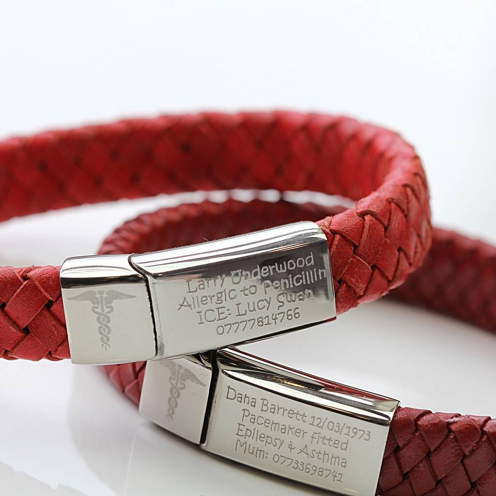 Medical Alert Bracelets >> medical alert bracelet by morgan & french ...