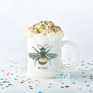 Bee's Knees Personalised Mug