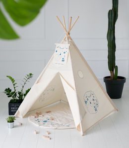 Limited Edition Natural Cotton Teepee