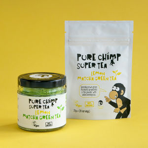 Lemon Flavoured Matcha Green Tea / 20g Pouch Or 50g Jar - teas, coffees & infusions