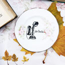 'Oh Hello' Upcycled Vintage Tea Plate