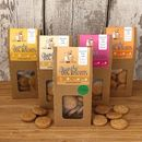Natural Crunchy Dog Biscuits Box