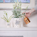 Ceramic Gold Raindrop Pot