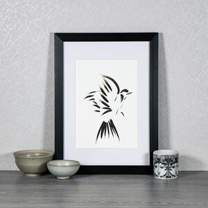 Free As A Bird Limited Edition A5 Print