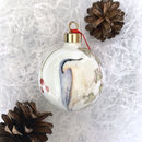 Nuthatch Fine Bone China Bauble
