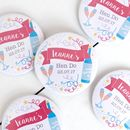 Personalised Celebration Hen Party Mirror