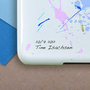Personalised Paint Splat Case For iPad , Mini And Air