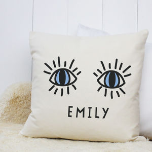 Personalised 'Eye' Cushion