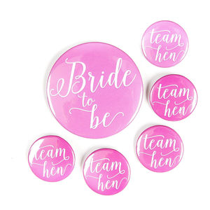 Hen Party Badge | Pink