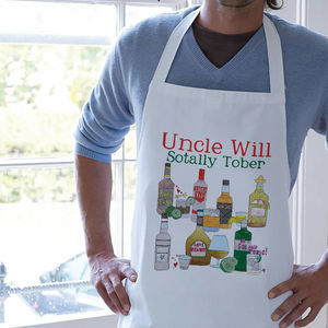 Personalised Sotally Tober Apron