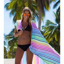 Las Bayadas Large Cotton Beach Blanket/Picnic Rug