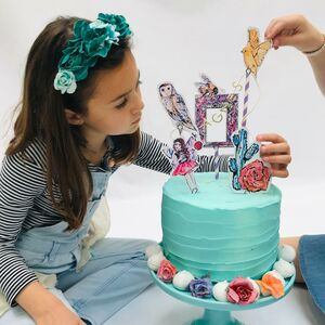 Create Your Own Fairy Cake Baking Activity Kit
