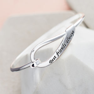 Best Friends Hoop Bracelet