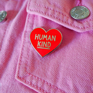 Human Kind Enamel Pin