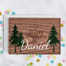 Personalised Happy Birthday Adventure Card A5