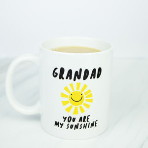 Grandad Personalised Sunshine Mug