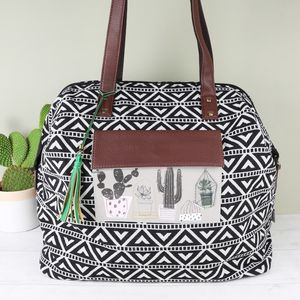 'Urban Garden' Weekend Bag - shoulder bags