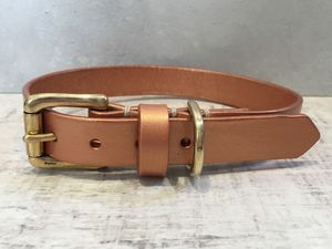 Pearl Leather Dog Collar