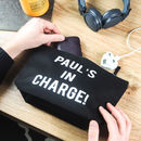 Personalised Charger Travel Bag