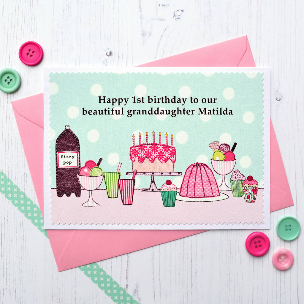 Personalise The Card For A Special Daughter Granddaughter Sister Niece Or Goddaughter