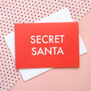 'Secret Santa' Christmas Card