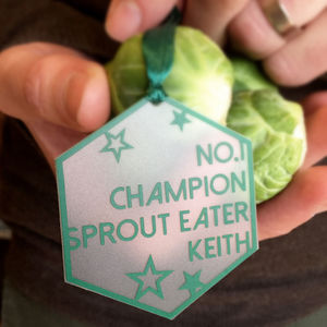 Number One Sprout Eater Tree Decoration
