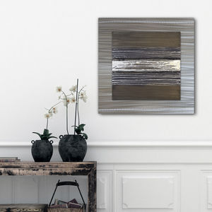 Walnut Lustre - modern & abstract