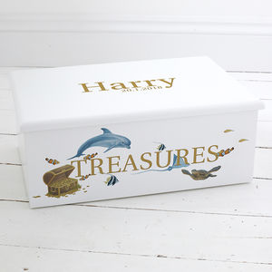 Sealife 'Keepsake Box' Keepsake Boxes