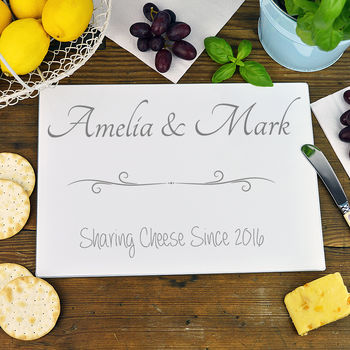 Personalised 'Sharing Cheese' Chopping Board