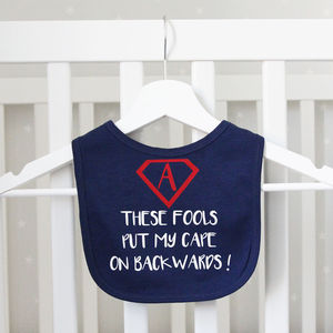 Superhero Cape Bib
