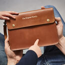 Family Leather Travel Wallet