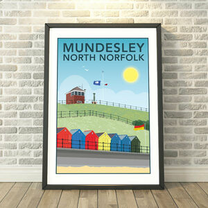 Mundesley, North Norfolk Coast Print