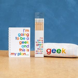 Geek Stationery Bundle For Statonery Lovers - pens & pencils