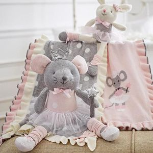 Ballerina Mouse Soft Toy
