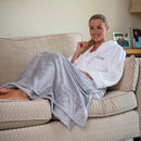 Personalised Ultra Soft Shimmering Throw
