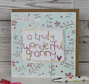 Card For A Granny - birthday cards