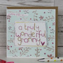 Card For A Granny