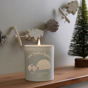 1st Christmas Together Candle - home accessories