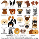 Dog Breed ID Tag Personalised