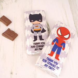 Personalised Party Bag Favours - personalised