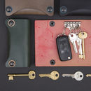 Leather key Frog case by johny todd