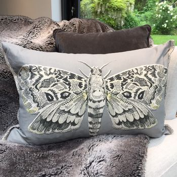 Grey Cocoon Cushion