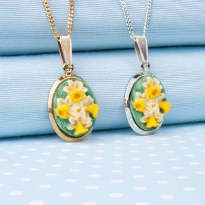 Daffodil Pendant Necklace - necklaces & pendants