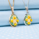 Daffodil Pendant Necklace