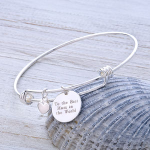 Message Bangle That Can Be Personlised - bracelets & bangles