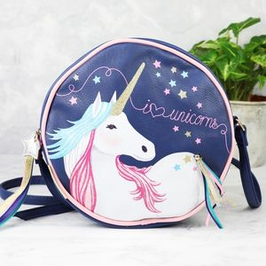 'Candy Pop' Unicorn Cross Body Bag